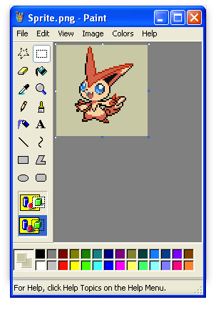 Inserting Custom Pokemon Sprites