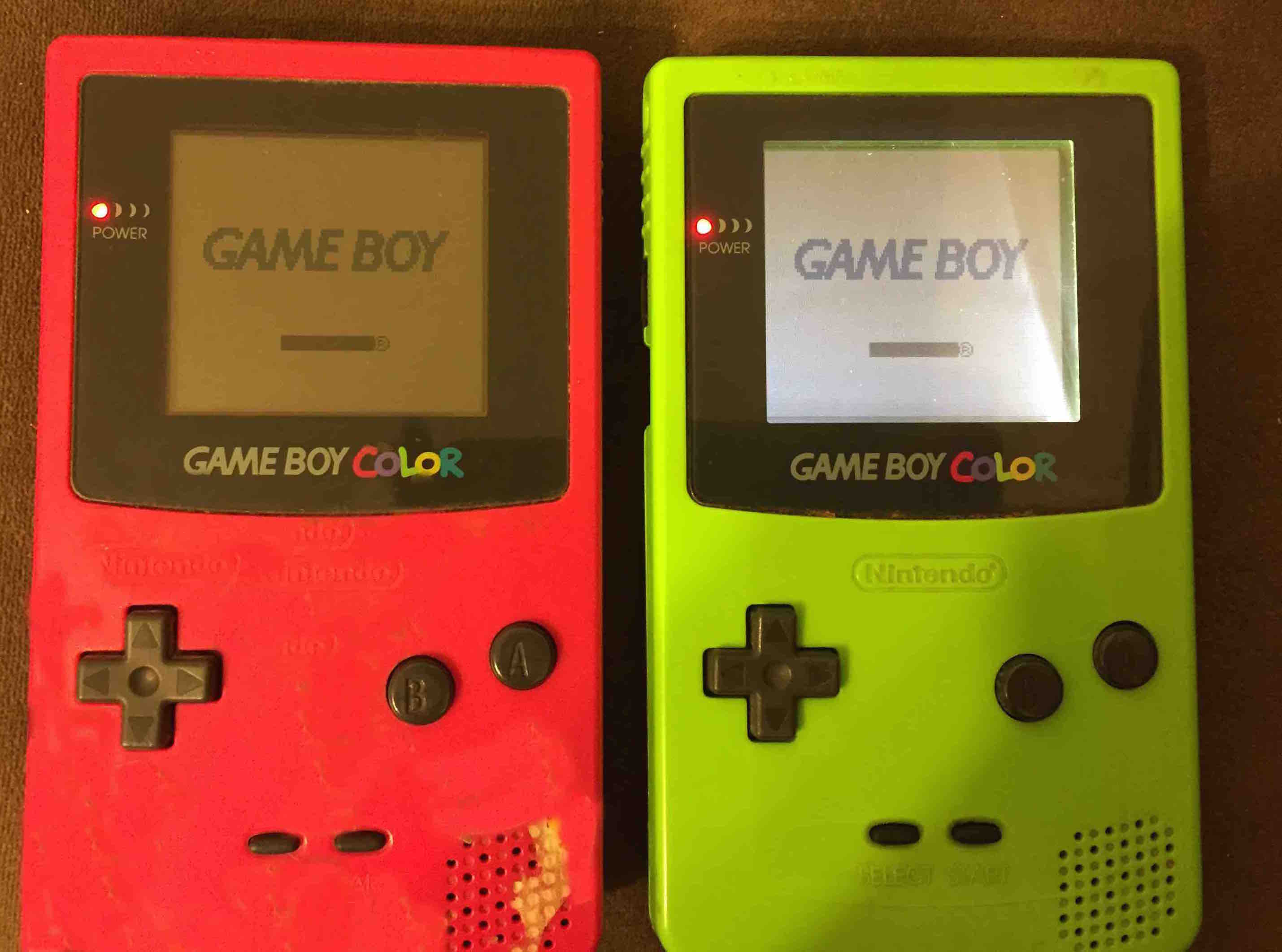 Gameboy color screen mod - Gameboy Color Screen Mod 0